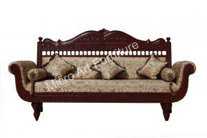Ethnic Teak Wood Sofa