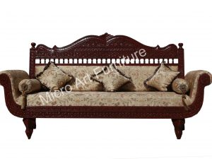 Designer Teak Wood Sofa
